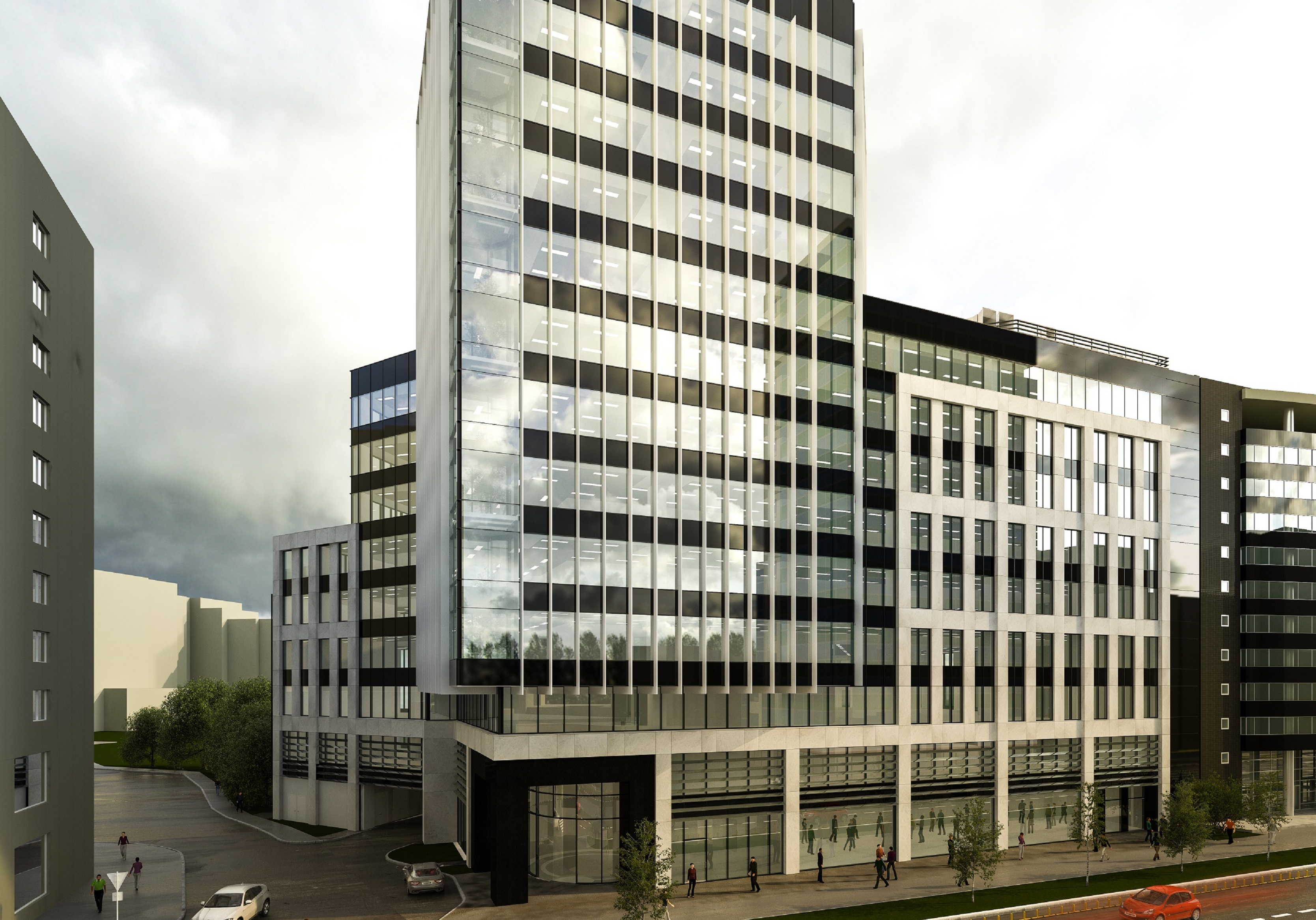 CBRE attracts a new tenant in the Țiriac Tower office building, developed by Țiriac Imobiliare