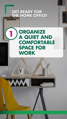 Organise a separate work space